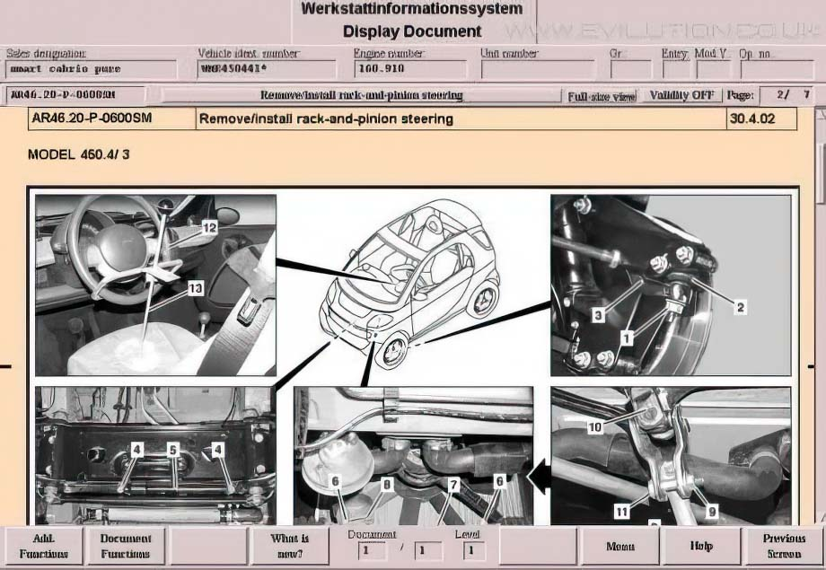 evilution - smart car encyclopaedia wiring diagram for smart roadster