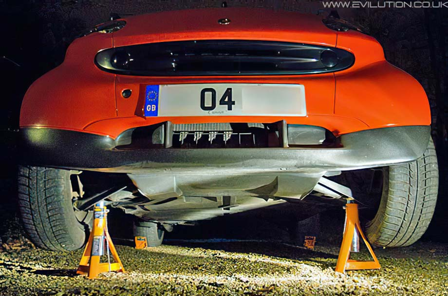 Where To Place Axle Stands Bmw