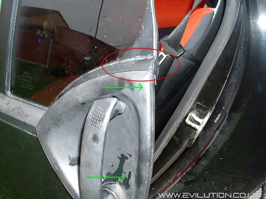 Car Door Window Replacement Cost >> Evilution - Smart Car Encyclopaedia