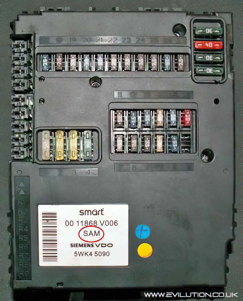 Where Is The Fuse Box In My Smart Car : Lincoln ls fuse panel diagram php auto