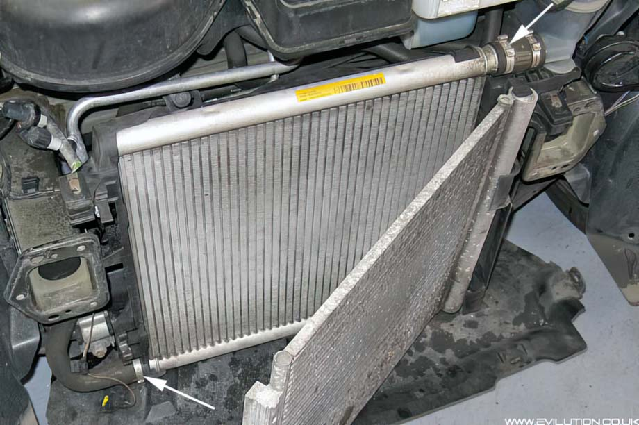 How to change coolant in smart car — photo 2