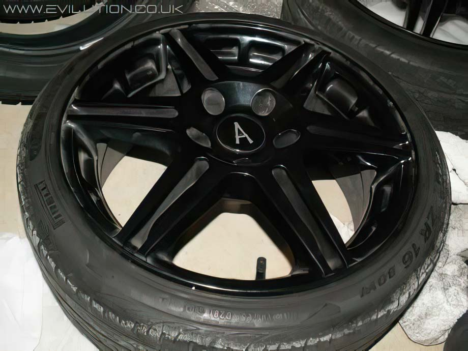 Powder coat wheels cost