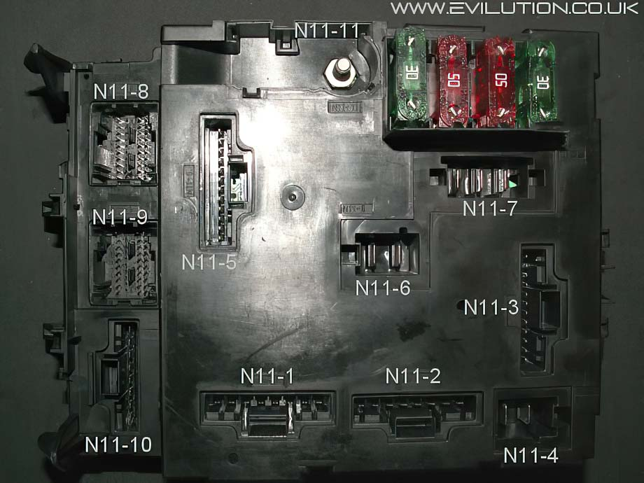 smart roadster sam wiring diagram evilution - smart car encyclopaedia smart roadster fuse box diagram