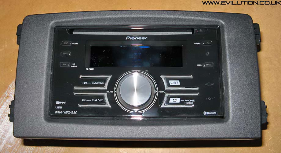 remove the old stereo from the car
