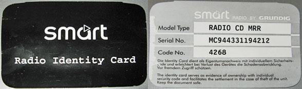 car stereo unlock codes free