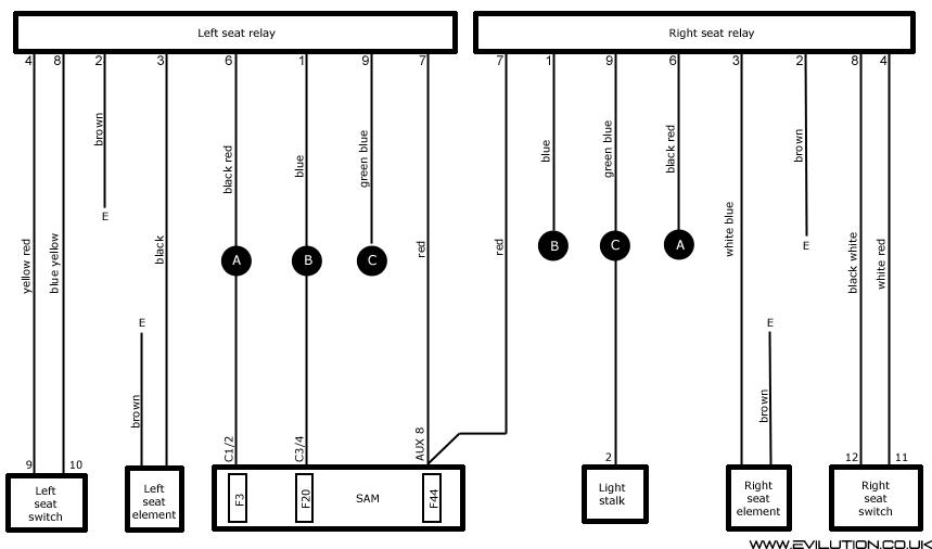 Porsche Seat Wiring Diagram Wiring Diagram
